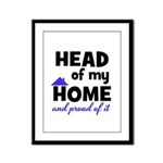 Head of my Home Framed Panel Print