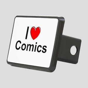 Comics Rectangular Hitch Cover