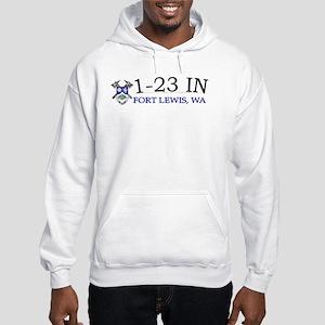 1st Bn 23rd Infantry Hooded Sweatshirt