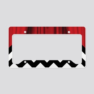 twin peaks chevron License Plate Holder