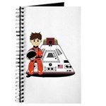 Spaceman and Space Capsule Journal