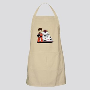 Spaceman and Space Capsule Apron