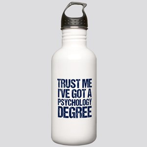 Funny Psychologist Stainless Water Bottle 1.0L