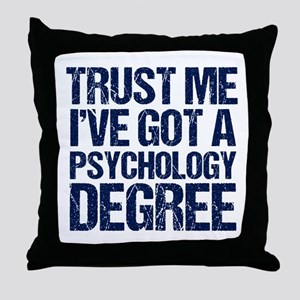 Psychologist Throw Pillow