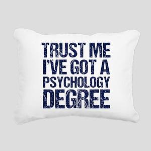 Psychologist Rectangular Canvas Pillow