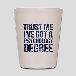 Psychologist Shot Glass