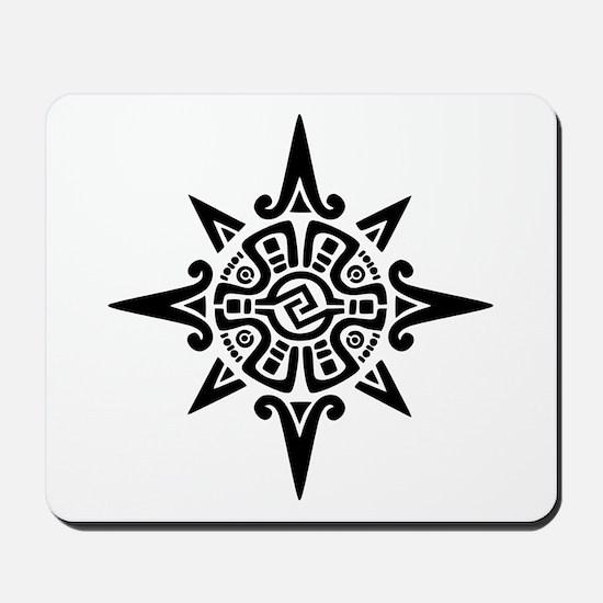 8-Point Incan Star Symbol Mousepad