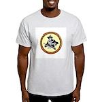 Illegals Minuteman Border Pat Ash Grey T-Shirt
