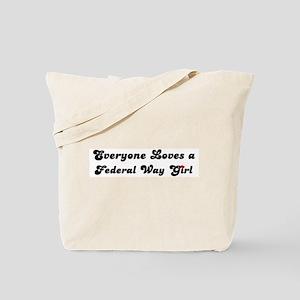 Loves Federal Way Girl Tote Bag