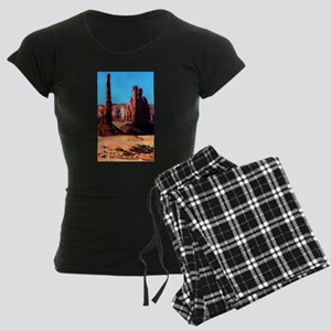 Red Rock Women's Dark Pajamas
