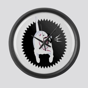 Barking Dog Large Wall Clock