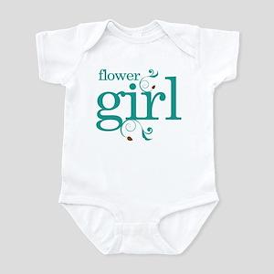 Flower Girl Wedding Swirl Infant Bodysuit