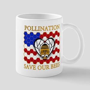 PolliNATION Save our Bees Mug