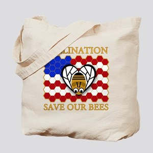 PolliNATION Save our Bees Tote Bag