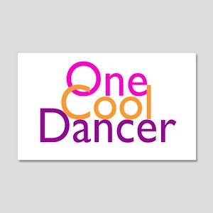 One Cool Dancer 22x14 Wall Peel