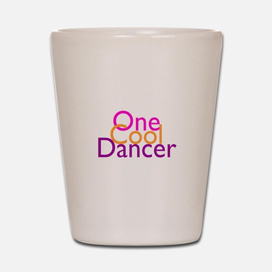 One Cool Dancer Shot Glass