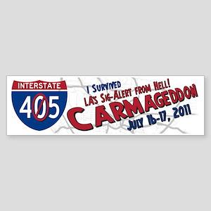 Carmageddon Sticker (Bumper)