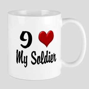Heart My Soldier Home/Office Mug