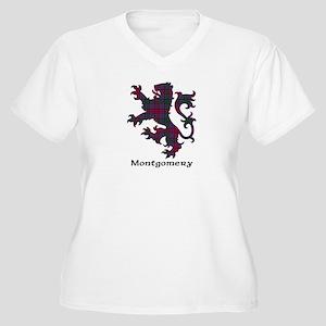 Lion - Montgomery Women's Plus Size V-Neck T-Shirt