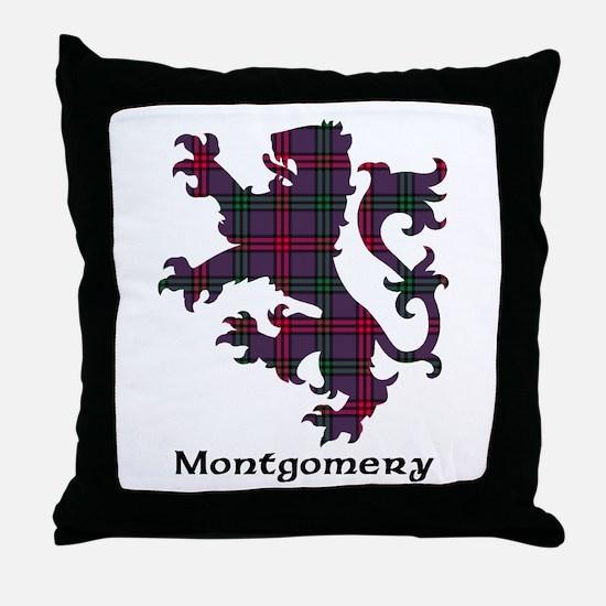 Lion - Montgomery Throw Pillow