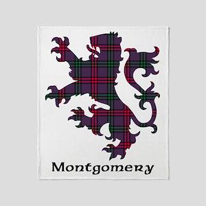 Lion - Montgomery Throw Blanket