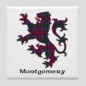 Lion - Montgomery Tile Coaster