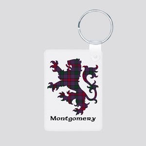 Lion - Montgomery Aluminum Photo Keychain