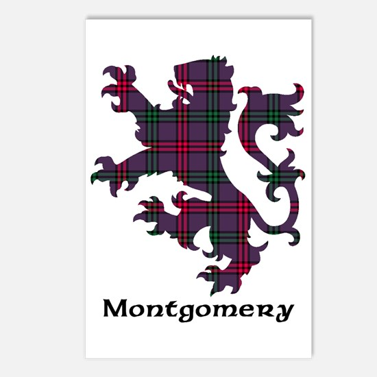 Lion - Montgomery Postcards (Package of 8)