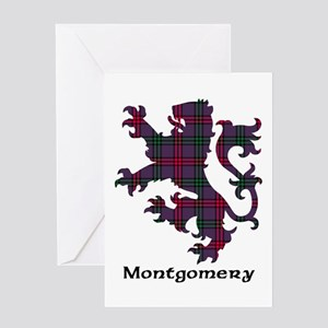 Lion - Montgomery Greeting Card