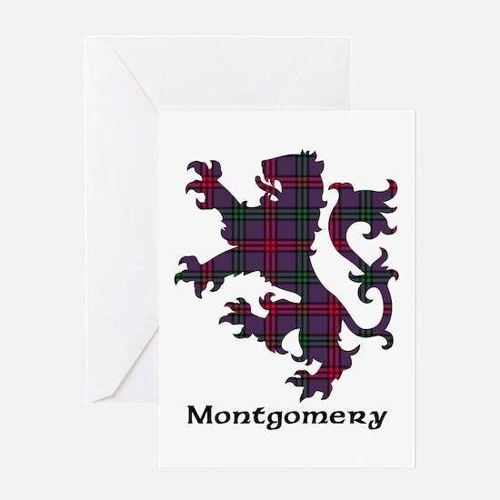 Lion - Montgomery Greeting Card