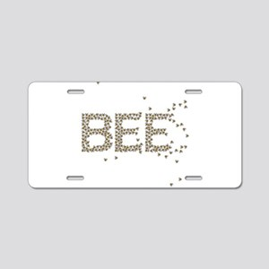 BEES (Made of bees) Aluminum License Plate