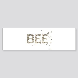 BEES (Made of bees) Sticker (Bumper)