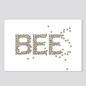 BEES (Made of bees) Postcards (Package of 8)