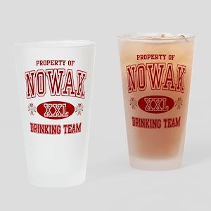 Nowak Polish Drinking Team Drinking Glass
