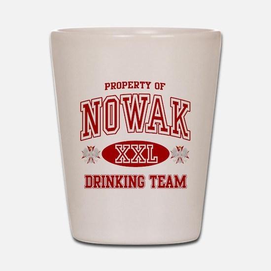 Nowak Polish Drinking Team Shot Glass