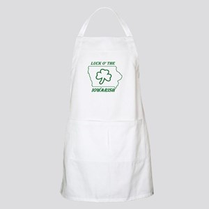 Luck O the Iowarish Apron