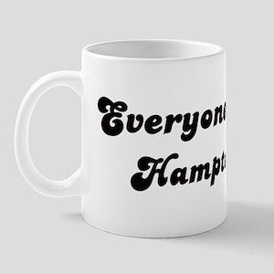 Loves Hampton Girl Mug