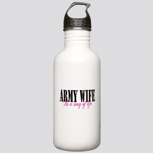 Army Way Home/Office Stainless Water Bottle 1.0L