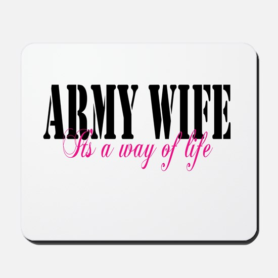 Army Way Home/Office Mousepad