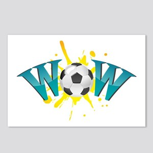 wow soccer Postcards (Package of 8)