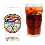 USS ALABAMA Drinking Glass