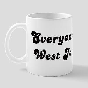 Loves West Jordan Girl Mug