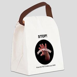 Anti-Vaxxer Canvas Lunch Bag