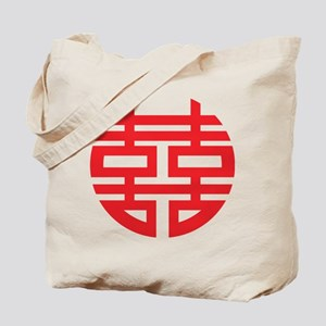 Chinese Double Hiness Tote Bag