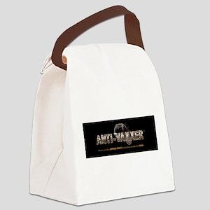 Anti-Vaxxer™ Rattlesnake Canvas Lunch Bag
