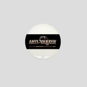 Anti-Vaxxer™ Rattlesnake Mini Button