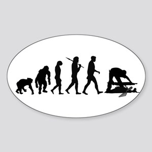 Archaeologist Sticker (Oval)