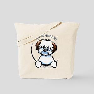 Tricolor Coton IAAM Tote Bag