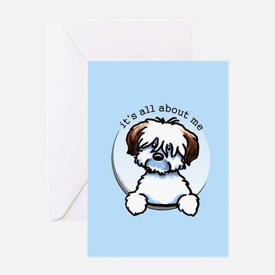 Tricolor Coton IAAM Greeting Card