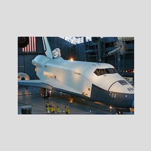Shuttle Enterprise Rectangle Magnet